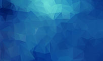 蓝色不规则多边形背景psd素材