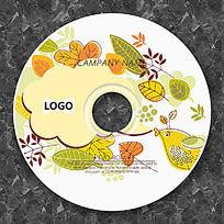 卡通小鸟的对话框CD设计