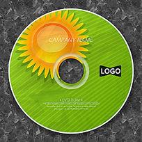 可爱太阳清新时尚CD设计
