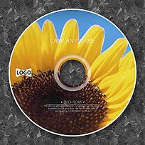 可爱向日葵高档光盘设计