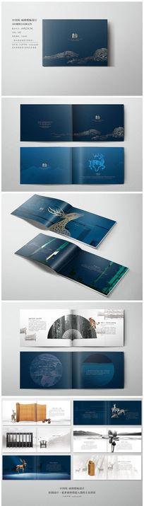 中国风高档地产楼书设计