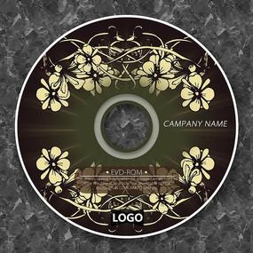 欧式涂鸦花纹古典CD包装