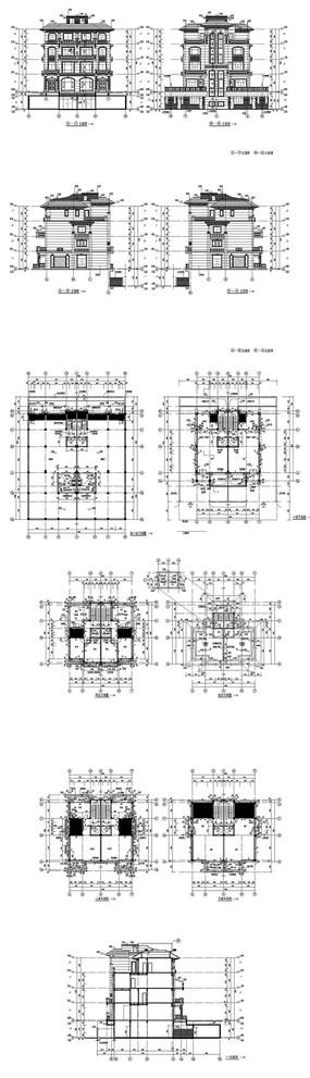 私家别墅建筑图纸