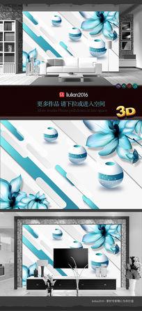 3D科技立体背景墙