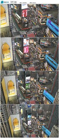 城市车流高清实拍视频