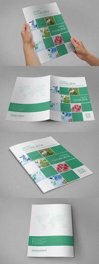 生物科技画册封面设计