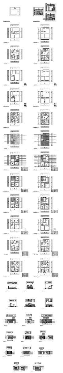 户型CAD平面图