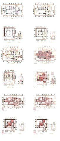 家居电路平面图