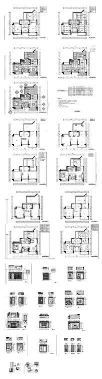家居装饰CAD结构图