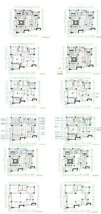 家居装饰地面铺装图