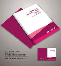 时尚紫色封面背景设计