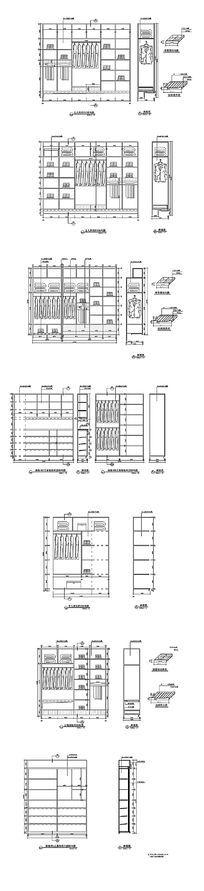 衣柜cad结构图