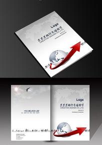 简洁大气银色画册封面图片素材设计下载