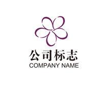 商业卖场花店标志设计模板 AI