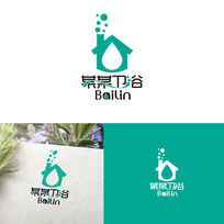 家庭卫浴产品标志 AI