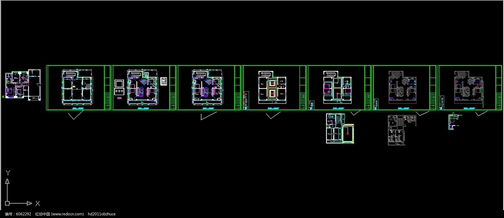 红动网提供室内装修精品原创素材下载,您当前访问作品主题是一套CAD家庭室内装修设计施工图纸,编号是6106270,文件格式是CAD,建议使用AutoCAD 2017及以上版本打开文件,您下载的是一个压缩包文件,请解压后再使用设计软件打开,色彩模式是RGB,,素材大小 是546.96 KB,如果您喜欢本作品,请使用上方的分享功能,分享给您的朋友,可以给他们的设计工作带来便利。