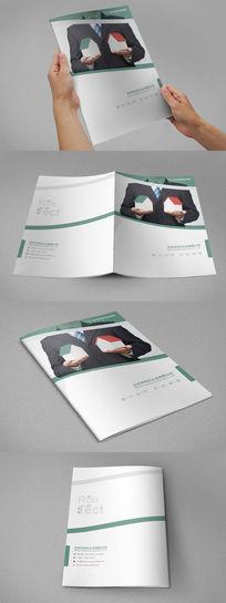 创意房地产画册封面设计