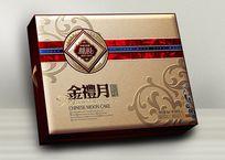 金礼月月饼包装设计 PSD