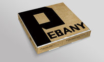 西装快递盒子包装设计
