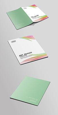 彩色色带画册封面