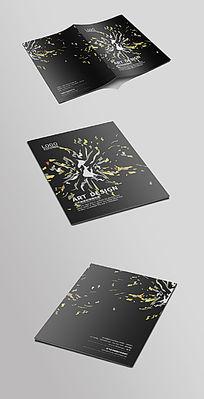 黑色创意封面设计