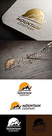 山mountain标志设计