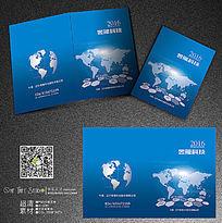 蓝色科技地球封面
