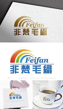 非梵毛织服装服饰logo