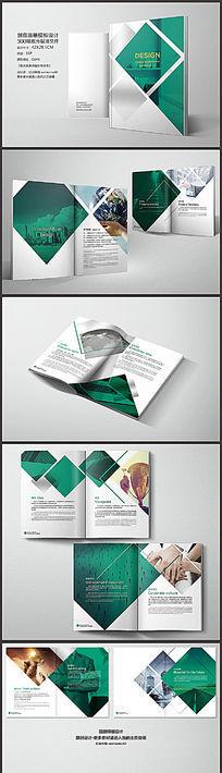 公司高档品牌画册设计模板