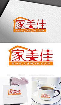 家美佳日用品企业公司商标LOGO设计