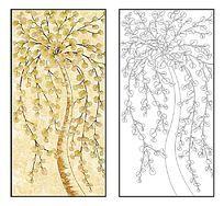 金钱树单线图