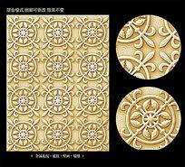 欧式金属质感花纹底纹背景