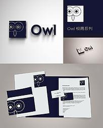 Owl极简系列创意logo