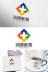 润德教育医院医药logo