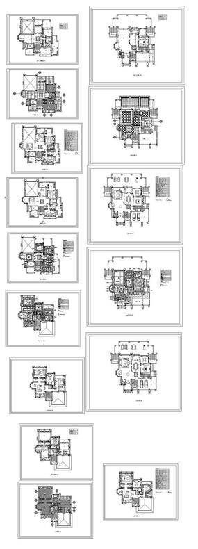 CAD家居平面图