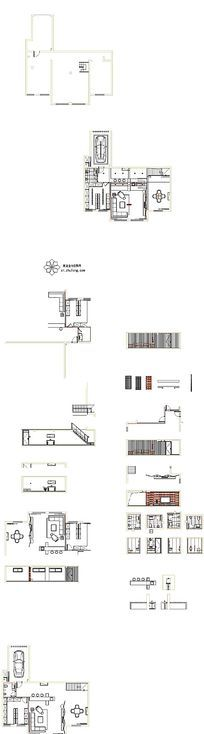 别墅室内装饰施工图