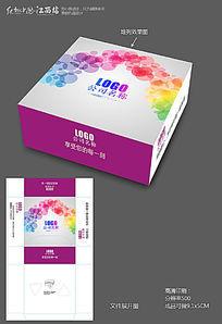 炫彩纸巾包装盒