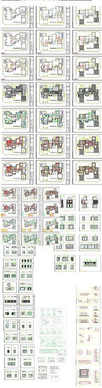 花园别墅施工图