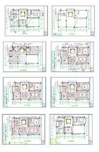 家居设计CAD平面图 dwg