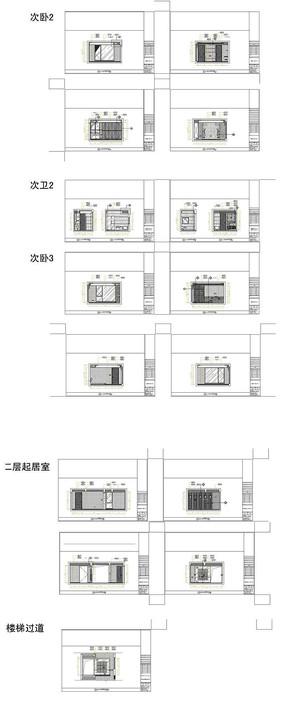家居设计立面图