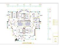家居装饰排水平面布置图
