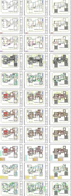 家居装饰平面布置图