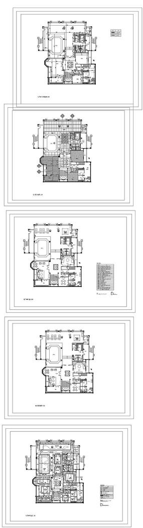家居装饰平面图纸