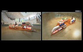 融信集团双杭城商场静态展3d模型下载