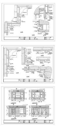 主卧室施工图