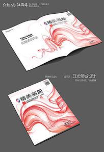 大气红色画册设计