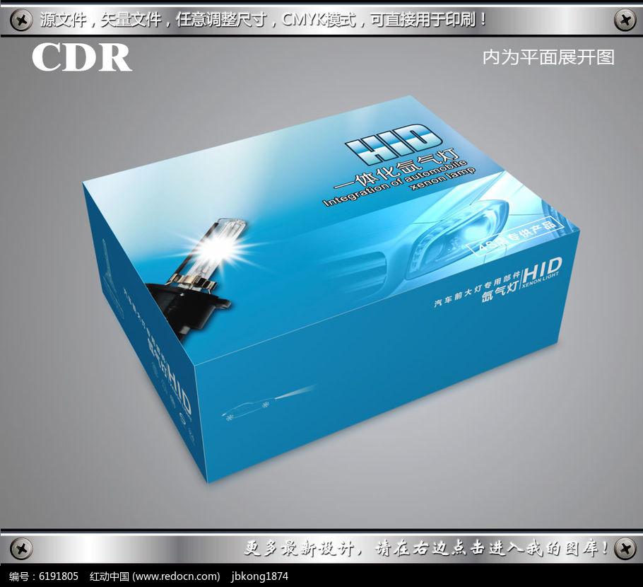 包装飞机盒设计cdr