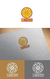 披萨大气创意logo