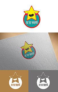 星星创意logo