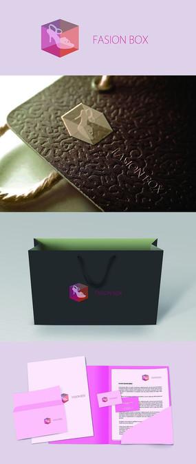 Fasionbox鞋类服装服饰logo设计
